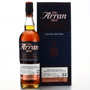 Arran 1996 Single Sherry Cask 22 Year Old #624 / IWBoS