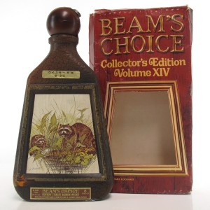 Jim Beam's Choice 8 Year Old Decanter 1980s / Racoon