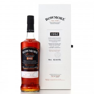 Bowmore 1992 Single Cask 26 Year Old 75cl / Canadian Exclusive