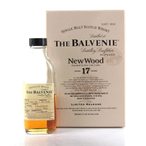 Balvenie 17 Year Old New Wood Sample 10cl