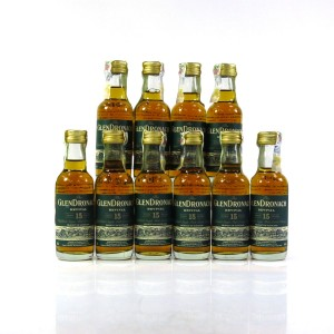 Glendronach 15 Year Old Revival Miniatures 10 x 5cl