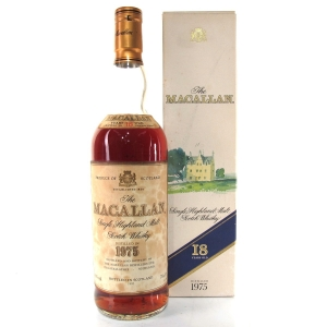 Macallan 18 Year Old 1975