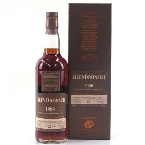 Glendronach 1990 Single Cask 27 Year Old #7005