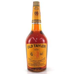 Old Taylor Kentucky Straight Bourbon 1970s / Cinzano Import