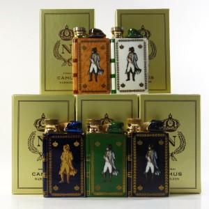Camus Napoleon Bicentenary Cognac Miniature Decanters x 5 1969
