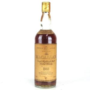 Macallan 1963 / Rinaldi Import
