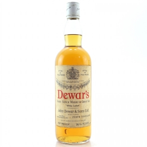 Dewar's White Label 1960s