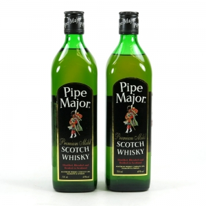Pipe Major Premium Mild Scotch Whisky 2 x 70cl