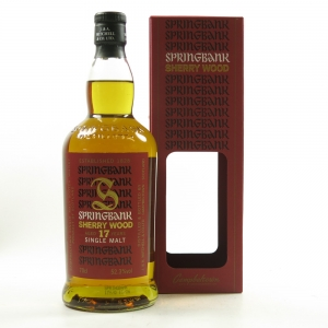 Springbank 17 Year Old Sherry Wood