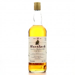 Mortlach 15 Year Old Gordon and MacPhail 75cl / US Import