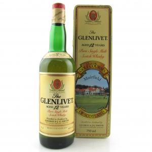 Glenlivet 12 Year Old Classic Golf Courses 1980s / Muirfield