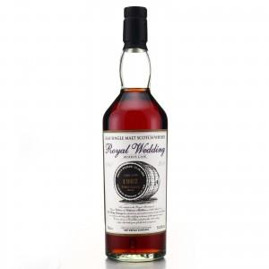 Port Ellen 1982 Whisky Exchange Single Cask / Royal Wedding 2011