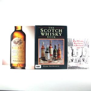 Miscellaneous Malt Whisky Books x 3
