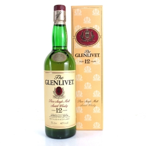Glenlivet 12 Year Old 1990s