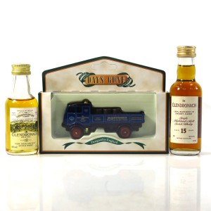 Glendronach Miniatures 2 x 5cl / with 'Days Gone' Truck