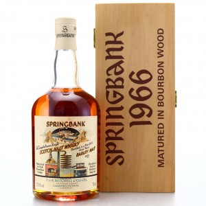 Springbank 1966 Bourbon Cask #499 / Local Barley
