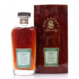Glen Grant 1967 Signatory Vintage 41 Year Old Cask Strength