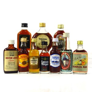 Rum Miniature Selection x 10