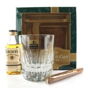 Teacher's Highland Cream Miniature 5cl / Whisky & Cigar