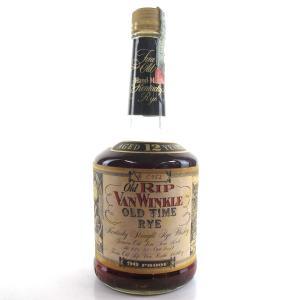 Old Rip Van Winkle 12 Year Old Old Time Rye / Rinaldi Import