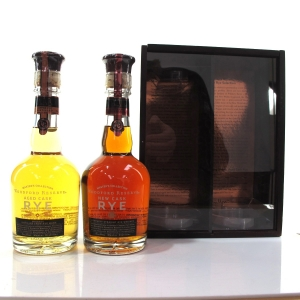 Woodford Reserve Masters Collection New Rye and Aged Rye 2 x 37.5cl
