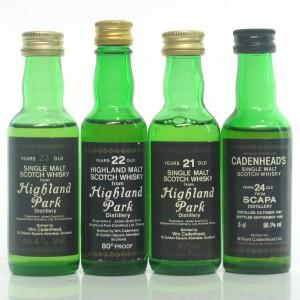 Island Cadenhead's Miniatures x 4