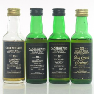 Speyside Cadenhead's Miniatures x 4