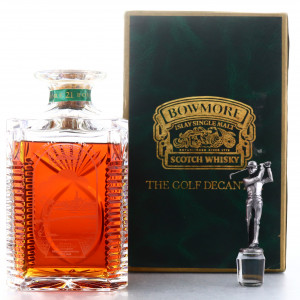 Bowmore 21 Year Old Golf Decanter / Turnberry