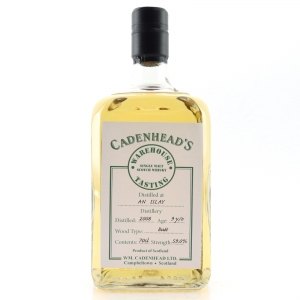 Islay Single Malt 2008 Cadenhead's 9 Year Old / Warehouse Tasting