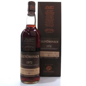 Glendronach 1972 Single Cask 43 Year Old #706
