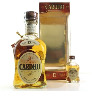 Cardhu 12 Year Old 1980s / Including 5cl