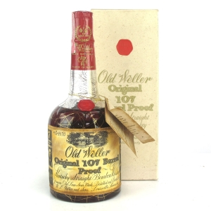 Old Weller Original 107 Barrel Proof 7 Year Old 1960s