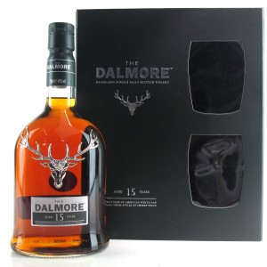 Dalmore 15 Year Old Presentation Pack / includes 2 Glasses