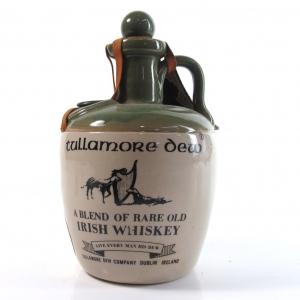 Tullamore Dew Irish Whiskey Flagon 1980s