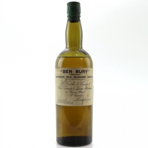 H. Cooke & Company 'Ben Bury' Superior Old Blended Scotch Whisky Circa 1940s