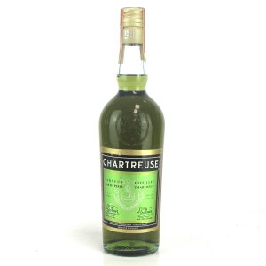 Chartreuse Voiron Green Label 1970s / US Import