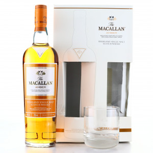Macallan Amber Limited Edition / with Glasses