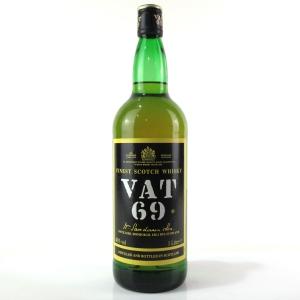 Vat 69 1980s 1 Litre