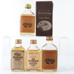 Miscellaneous Highland Miniature Selection 4 x 5cl
