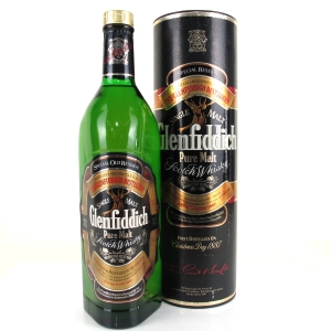 Glenfiddich Pure Malt 1980s 1 Litre