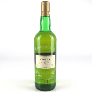 Caol Ila 1977 Cadenhead's 17 Year Old Cask Strength Single Cask