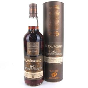 Glendronach 1993 Single Cask 24 Year Old #652 / AbbeyWhisky.com 10th Anniversary