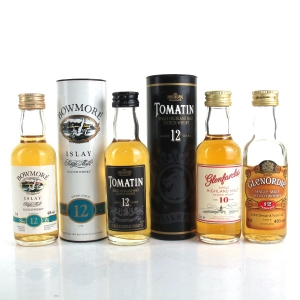 Miscellaneous Single Malt Miniature Selection 4 x 5cl
