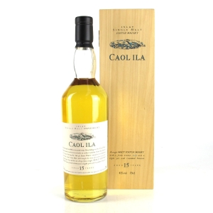 Caol Ila 15 Year Old Flora and Fauna / Wooden Box