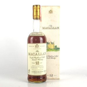 Macallan 12 Year Old 1990s 75cl / Giovinetti Import