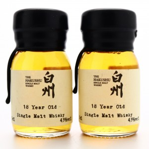 Hakushu 18 Year Old Drinks by the Dram 2 x 3cl