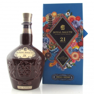 Chivas Royal Salute 21 Year Old Special Edition / Sapphire Flagon