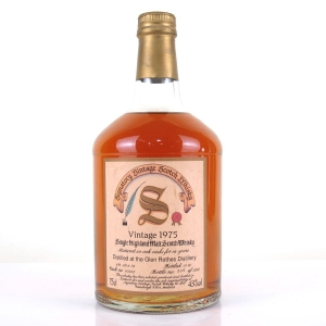 Glenrothes 1975 Signatory Vintage 16 Year Old