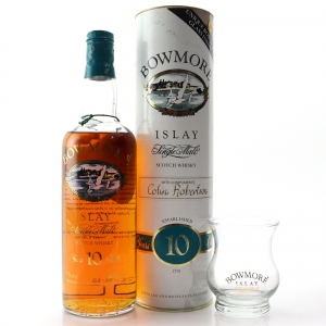 Bowmore 10 Year Old Screen Print 75cl / with Glass