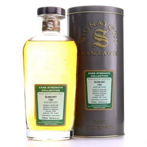 Glenlivet 1980 Signatory Vintage 24 Year Old Cask Strength 75cl / US Import